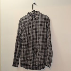 APT. 9 Plaid Mens Button Down Shirt